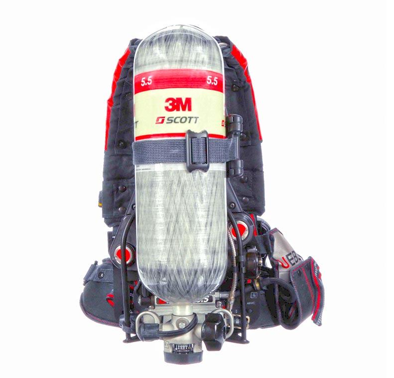 3M™ Scott™ Air-Pak X3 Pro SCBA (front)