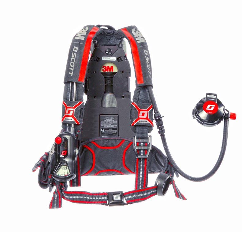 3M™ Scott™ Air-Pak X3 Pro SCBA (back)